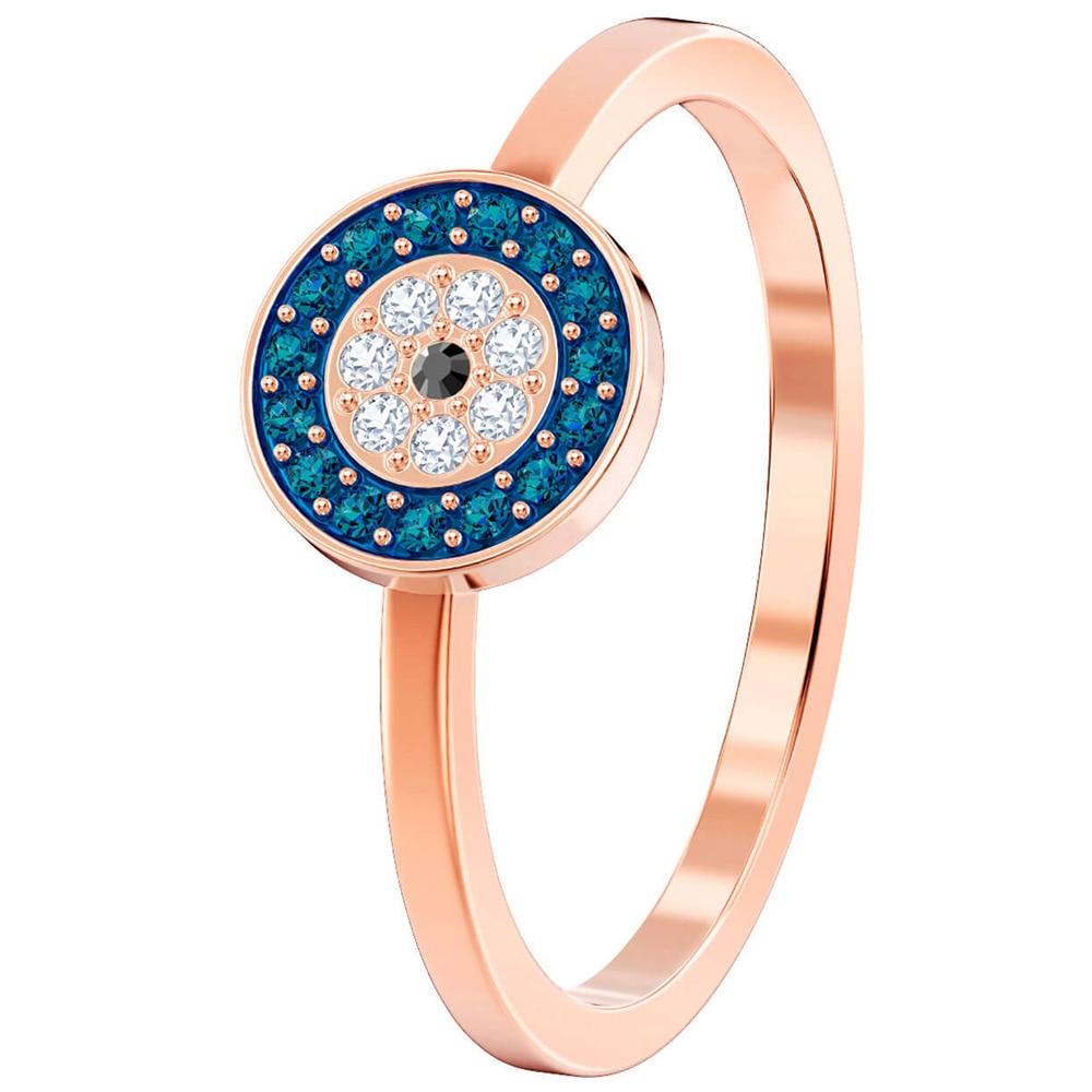 e7d3c7ecc533 SWA RO 2019 nuevo por suerte anillo de ojo del diablo mujer Original 1  venta al por mayor de cristal brillo para mamá novia joyería romántica  regalo