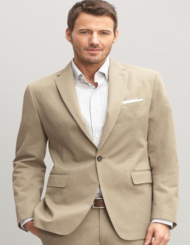 Online Get Cheap Beige Mens Suits Slim Fit -Aliexpress.com ...
