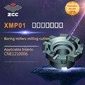 ZCC. CT сверлильные Фрезерные фрезы XMP01 высокая производительность токарный станок с ЧПУ Инструменты Индексируемые фрезерные инструменты