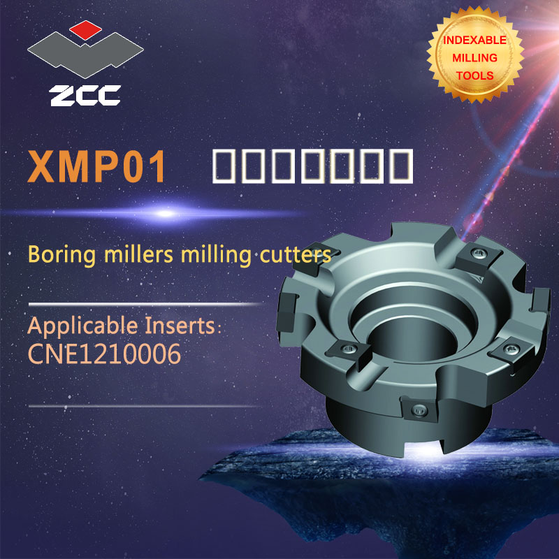 ZCC.CT Boring millers  milling cutters XMP01 high performance CNC lathe tools indexable milling tools|Milling Cutter| |  - title=
