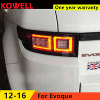 KOWELL Car Styling for land rover Evoque taillights 2012 2016 for Evoque rear lights dedicated car light led taillight assembly