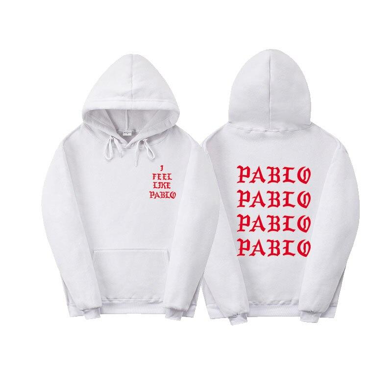La Vita Di Pablo Kanye West Pablo Con Cappuccio Uomini/Donne Hip Hop Tirare Parigi Apertura Saint Pablo Mi Sento Come Paul felpe