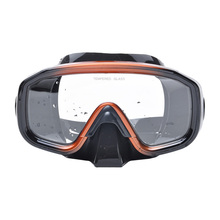 High-grade pure silicone goggles diving mask snorkeling paint Sambo equipment