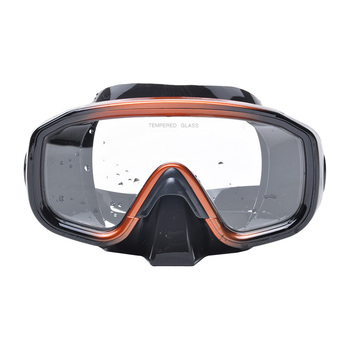 High Quality Silicone Scuba Diving Mask With Mask Box Underwater Swimming Snorkeling Spearfishing Mask Free Shipping YM138/YM361 цена 2017