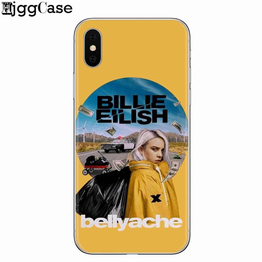 Billie Eilish Khalid jolis étuis housse de téléphone souple en silicone TPU pour Apple iPhone X 8 8plus 7 7plus 6 6 S Plus 5 S SE