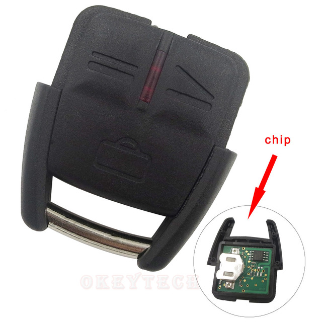 1pcs Free Shipping Remote Control Key Fob For Opel Vauxhall Astra