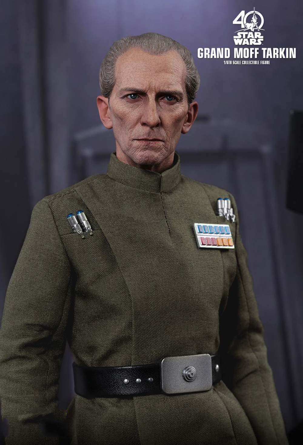Full set Colletible 1/6 Scale Star Wars: Episode IV - A New Hope Grand Moff Tarkin Peter Cushing Figure Model Toys 4