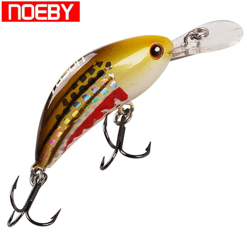 Noeby Minnow Fishing Lure 40mm 3.5g Hard Bait Sinking 0-0.8m with VMC Hook Isca Artificial Para Pesca Leurre Peche Fishing Baits noeby nbl9062 fishing lures 66g 140mm pencil sinking leurre peche mer brochet hard fishing bait