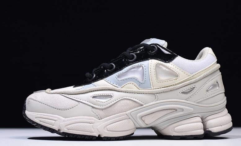 Adidas X Raf Simons Ozweego 2 Women's Running Shoes, White, Shock Absorption Non slip Waterproof Breathable S81161 EUR Size W