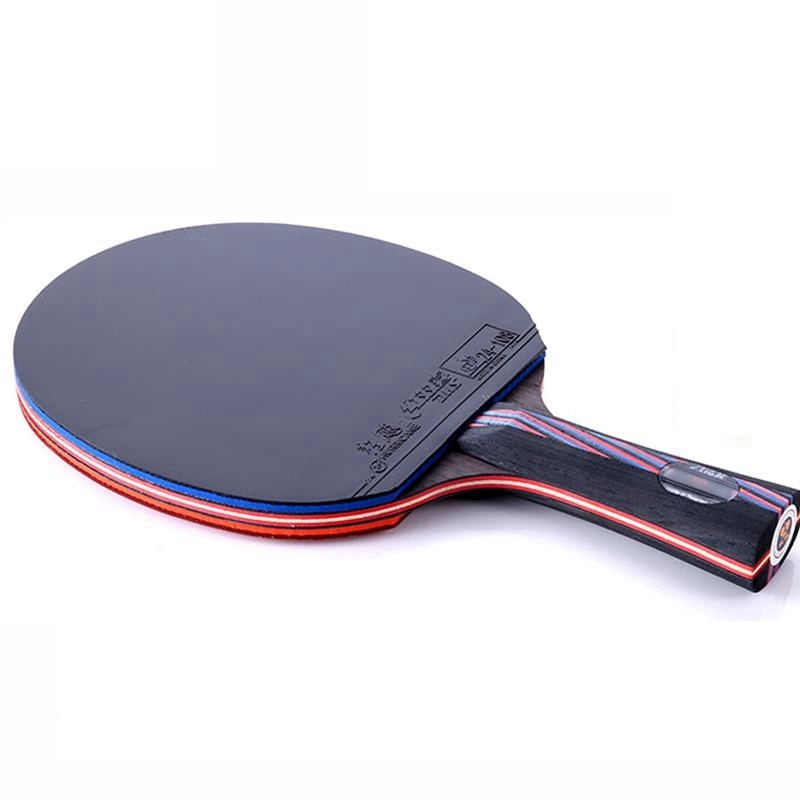 professional WRB carbon fiber table tennis racket double face pimples in table tennis rubber long or