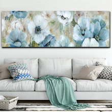 Waterproof Canvas Flower Oil Painting Printed Giclee Printing Wall Posters Prints Bedroom Decoration Pictures