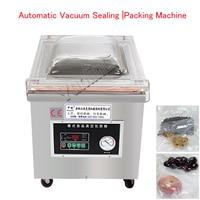 Автоматическая Еда вакуумный упаковщик вакуумный запайки мешок запайки Нержавеющаясталь вакуумной упаковки DZ 350