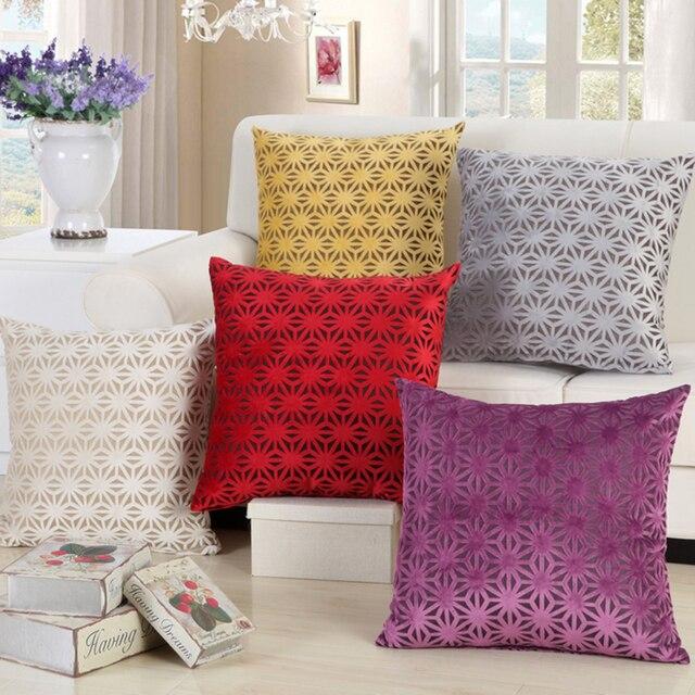 Throw Pillows Bohemian Sofa Large Cojines Decorativos Modern Minimalist Red Cushion Luxury Vintage Cushions Home
