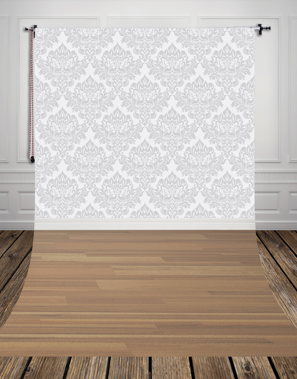 GREY damask printed indoor photo backdrops thin vinyl backdrop for studio children BABY photography backgrounds D-9898 back to school backgrounds deep green backdrops for photo studio baby photo thin art fabric backdrop d 3546