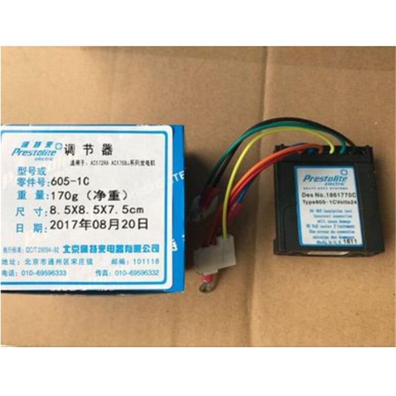 Yutong higer bus prestolite régulateur de générateur électrique 605-1C AC172RA 140A 1861770C six lignes