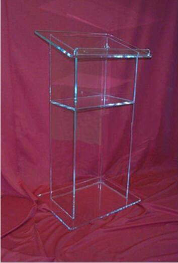 Wholesale Clear Lucite Church Podium Transparent Pmma Pulpit Glass Pulpit Church Acrylic Podium