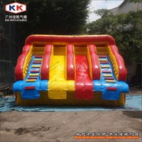 KK Frame Pool Water Slide, Inflatable Commercial Water Slide for Sale