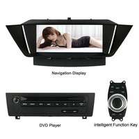 8.3 Inch HD Touch Screen Car DVD Player GPS Navigation in Dash 2 Din Car Radio BT for BMW X1 E84 Display DVD Player