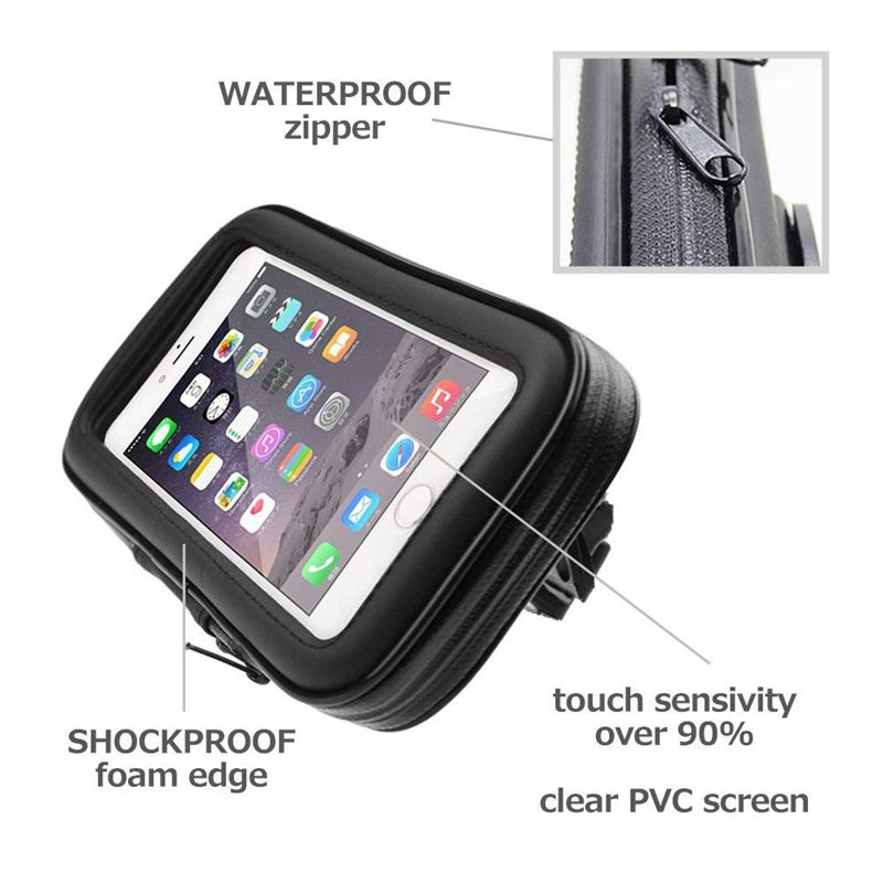 KissiPhone Waterproof iPhone Bike Mount Case