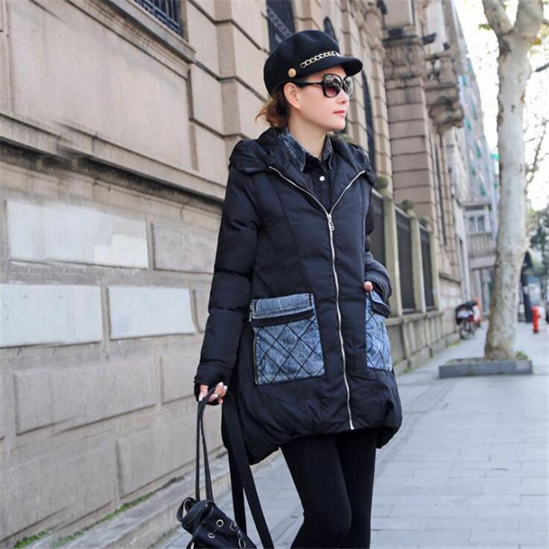 New Winter   Parkas   2019 Women's Mid-Length Loose   Parkas   Down Jacket Warm Jacket Coat For Women High Quality Coat For Lady A3781
