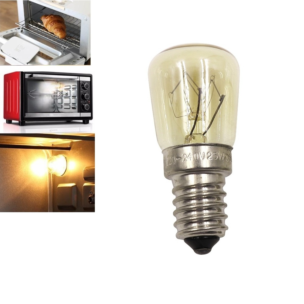 E14 Led Light Bulbs Oven Light Bulb LEDs Filament Bulbs Yellow High Temperature Resistance 300 Degree Microwave Oven LED Lamp