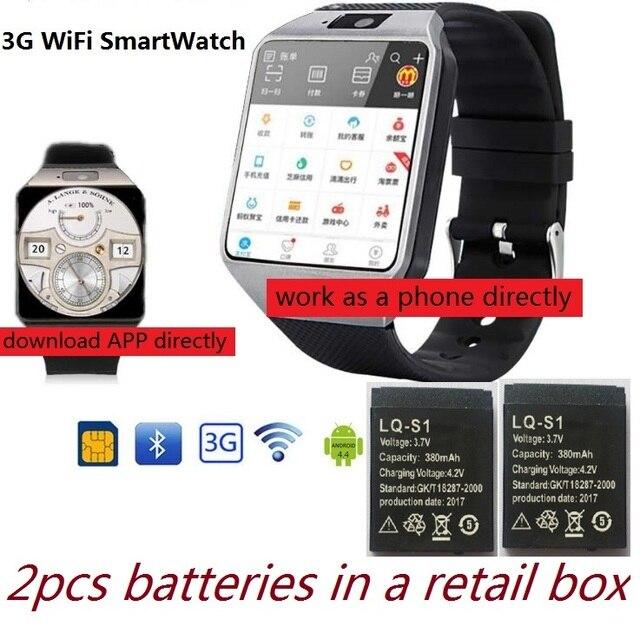 3g умные часы с WiFi 512 Мб/4 ГБ ж/Facebook/Twitter/WhatsApp Bluetooth 4,0 Smartwatch ж/камера шагомер SIM карты телефонный звонок