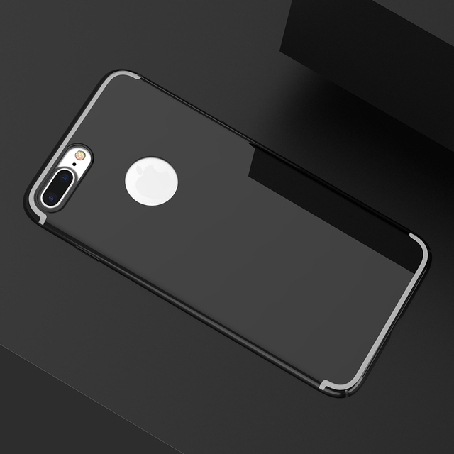 DOEES Luxury Cases For iPhone 6 6S 7 Plus Case Slim Gold Plated Men Thin  Mirror Gradient Women Phone Cover For iPhone 7 7 Plus e47b93b46