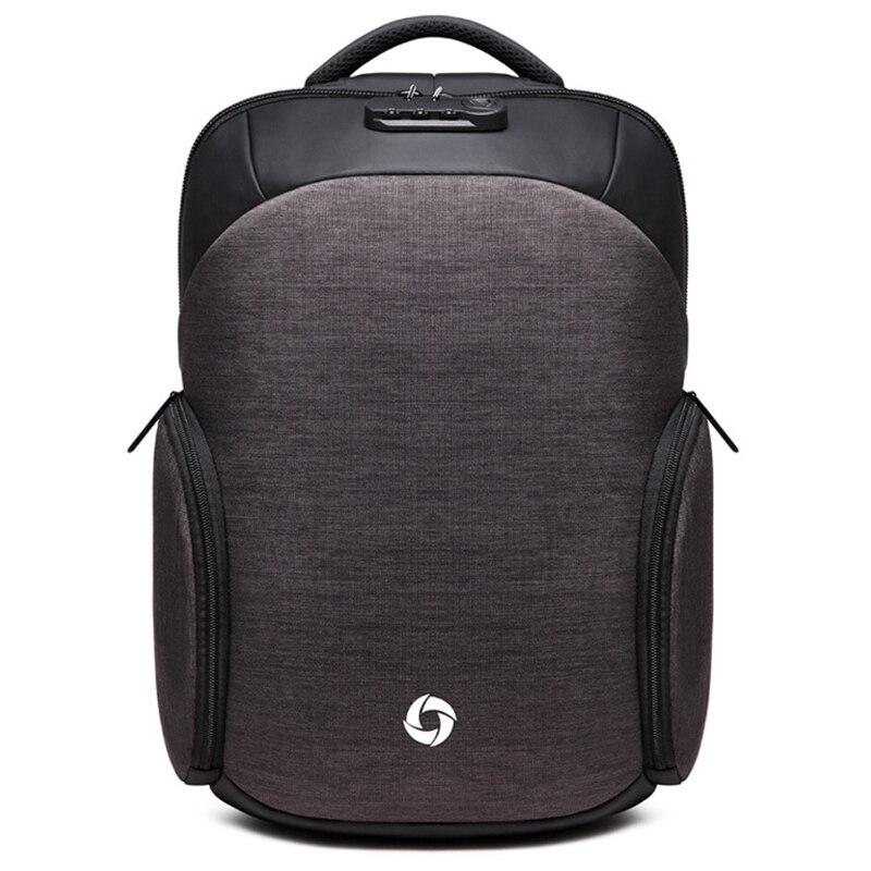 OZUKO 2019 Men Backpack Multifunctional Cipher Lock Anti theft 15 6inch Laptop Backpack Waterproof Teen Boys