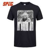Star Wars Yoda T Shirt Men S XL 5XL Short Sleeve Big Size Round Neck Group