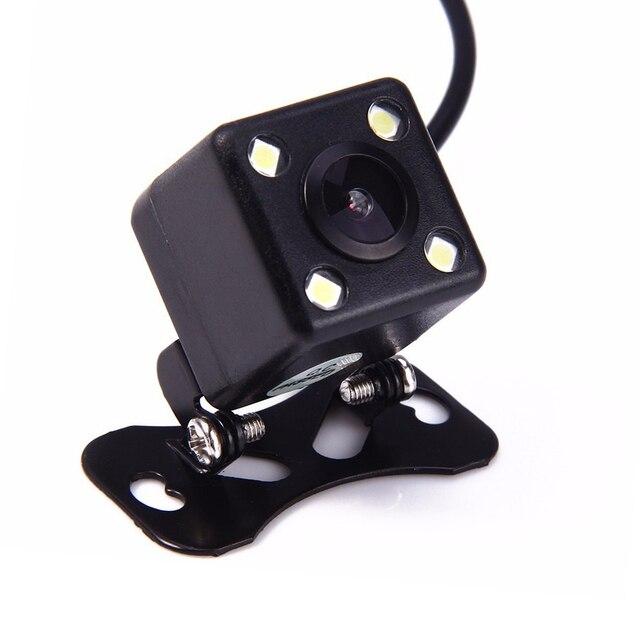 170 Degree 4 LED Lamp Night Vision Car Parking Rear View Camera Reversing Backup Waterproof HD CCD Sensor