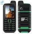 Original vkworld piedra v3 plus teléfono móvil 2.4 pulgadas dual sim bluetooth ranura impermeable 4000 mah teléfono celular de fm