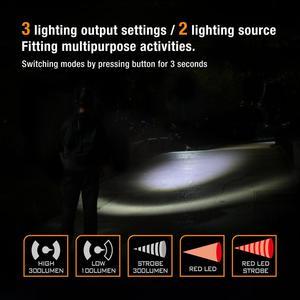 Image 4 - Everbrite lâmpada de cabeça recarregável, 3000 lúmens, com zoom, super clara, resistente à água ipx4, 10 modos de iluminação, tocha