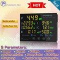 EPM6600 10A/2000 Вт цифровой энергии ПЕРЕМЕННОГО ТОКА метр/измеритель мощности/измерений электрических/Частота/квтч метр