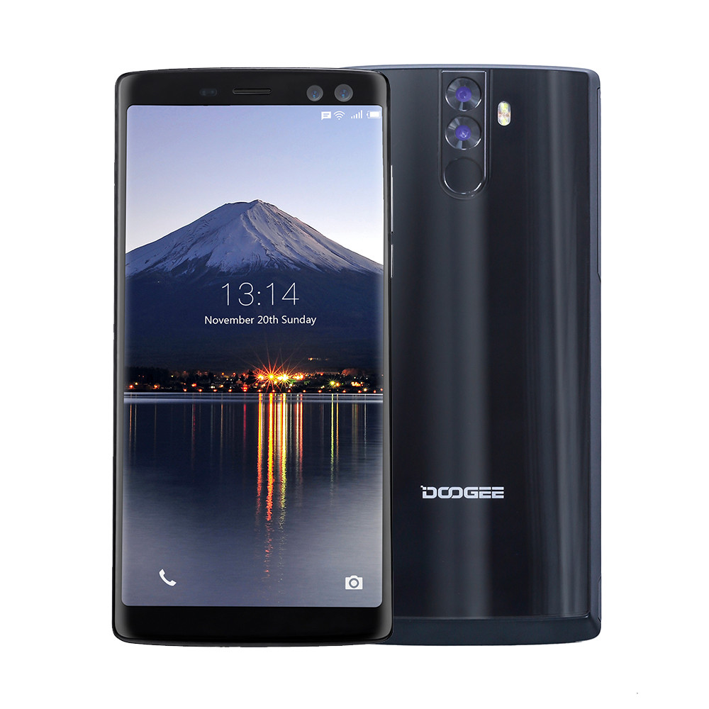 DOOGEE BL12000 Smartphone /12000mAh Super Large Battery Android 7.0 4G + 32G Apr19 cubot x18 4g smartphone