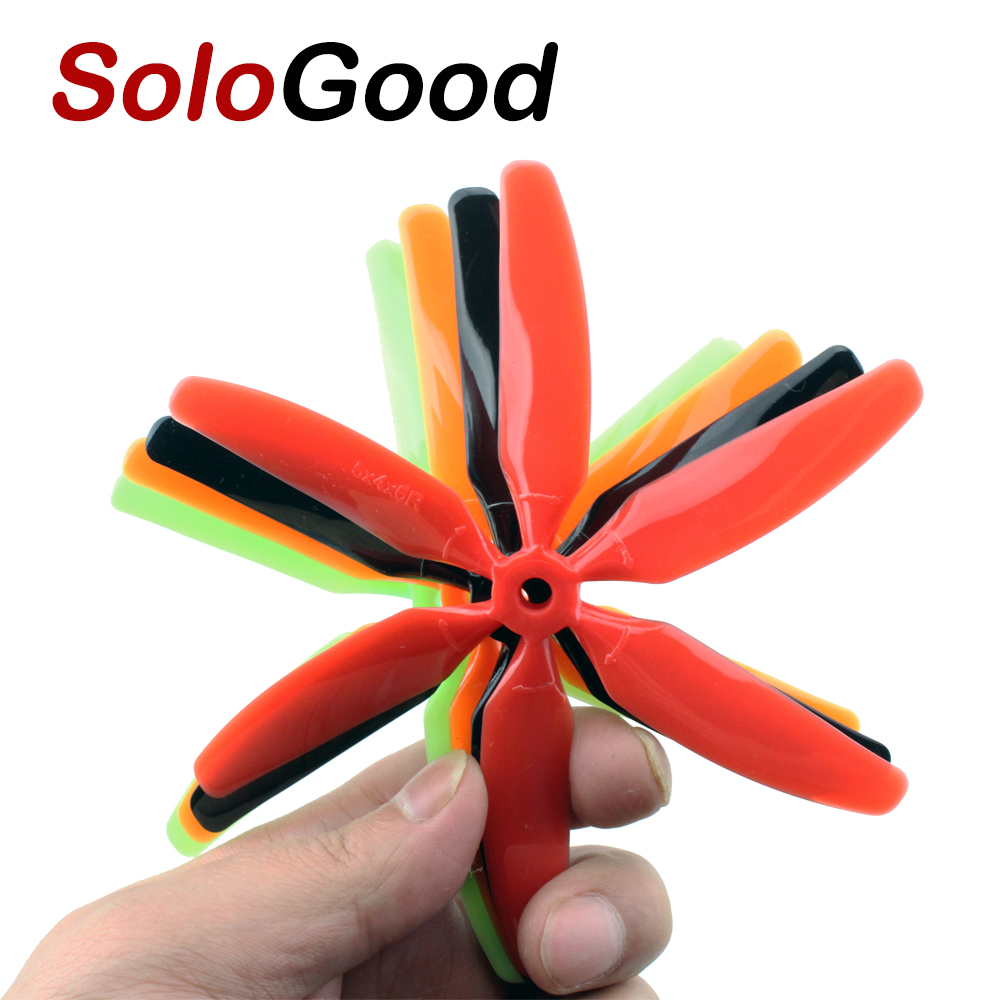 10pcs 3045/4045/5040/5045 3 4 5 6 Blades Bullnose Propeller CW /CCW For 250 FPV Racing Quadcopter ZMR250 Robocat