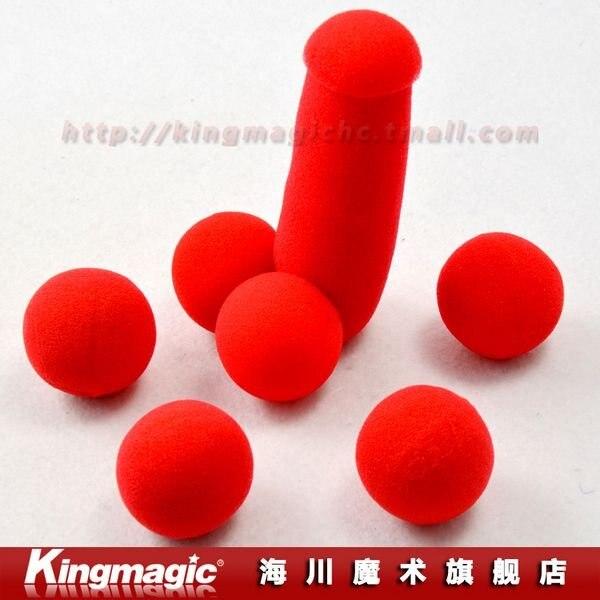 Kingmagic губка брат/губка пенис/смешная Магия/волшебная игрушка/губка секс магический трюк 5 шт./лот