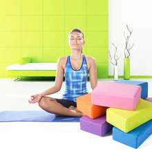 EVA Yoga Blocks Bricks Foaming Foam Home Exercise Fitness Health Gym Practice Tool 23*15*7.5