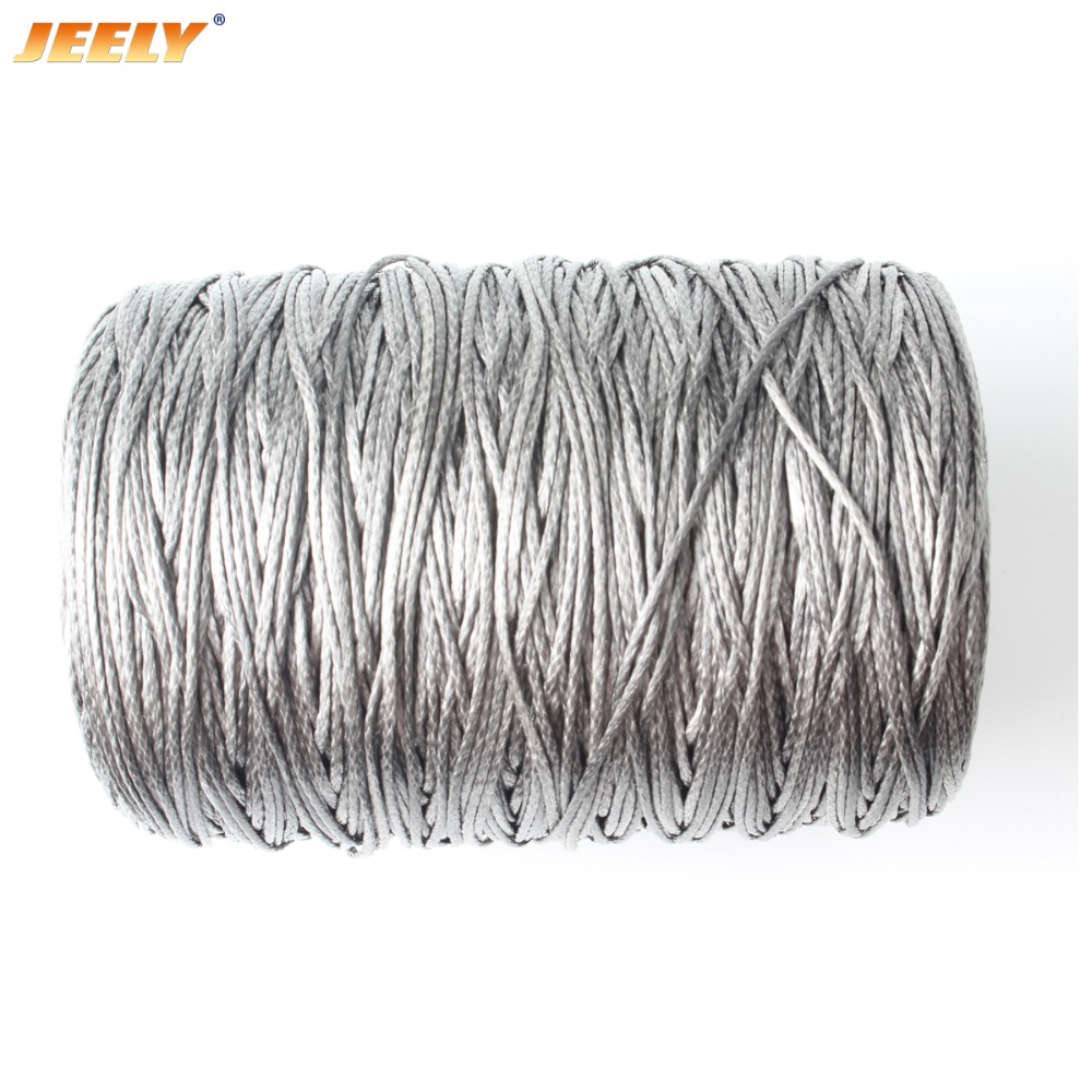 Free Shipping 100m 1000lb UHMWPE Hollow Braided Spearfishing Rope 2mm 12 weave