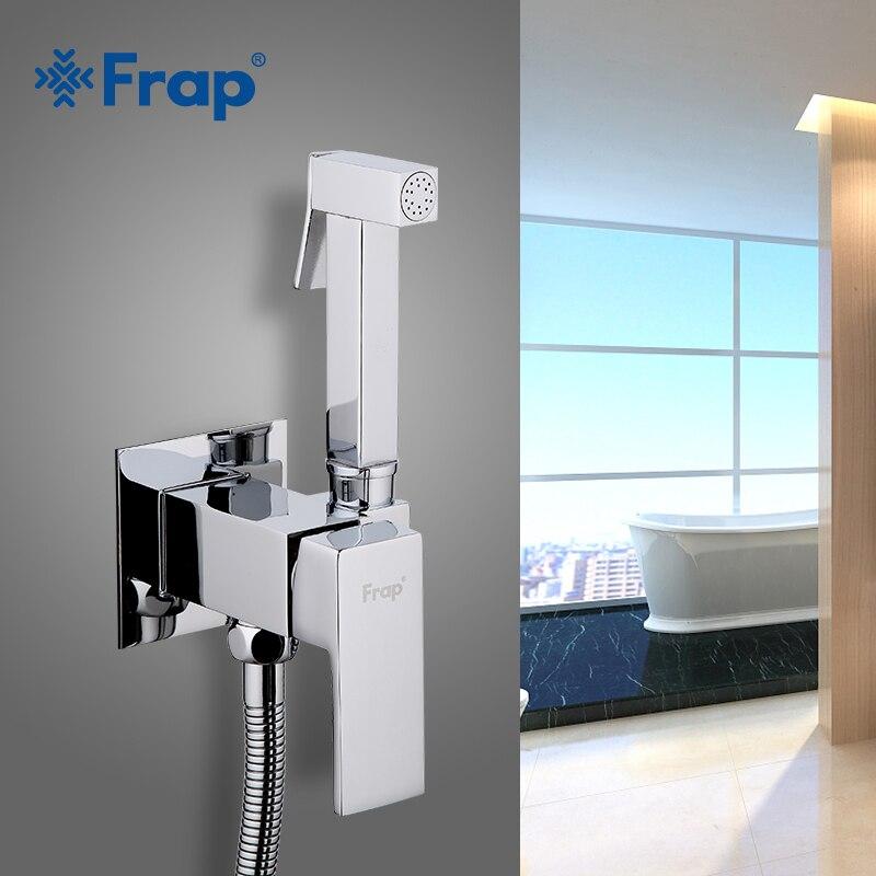 FARP Bidets laiton salle de bain robinet bidet toilette pulvérisateur douche robinets toilette laveuse mélangeur musulman douche ducha higienica robinet de toilette