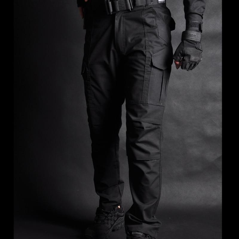 Men's Sets Cotton Military Uniform Shirt Men Army Pants Airsoft Paintball Tactical Shirts Suit Camo Training Clothes Men's Pant - 3