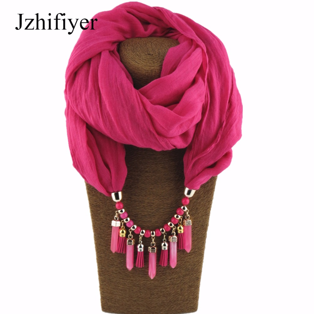 inverno mujer pendant ring scarfs jewelry ring muslim hijab round scarfs viscose soft plain solid scarfs charm Jewelry in Women 39 s Scarves from Apparel Accessories