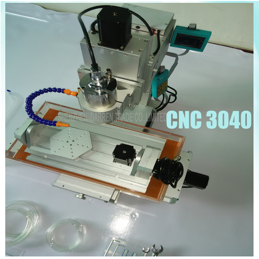 1PC New 5 axis cnc machine CNC 3040 engraving machine,Ball Screw Table Column Type woodworking cnc router cnc 3040 cnc router cnc machine 3 4 5 axis mini engraving machine woodworking tools diy hy 3040 high quality metal acrylic