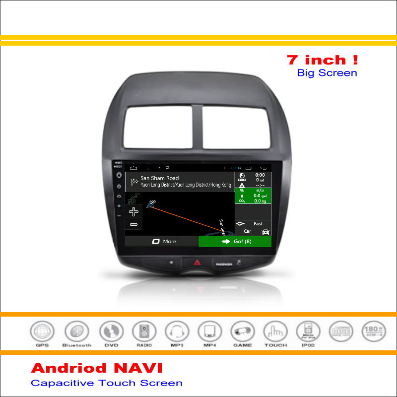 car android gps nav navi navigation system for mitsubishi. Black Bedroom Furniture Sets. Home Design Ideas