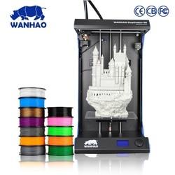 WANHAO producenta D5S w pełni zmontowany 3D drukarki duży obszar drukowania z wysoką precyzją