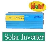 2500 Вт Чистая синусоида Инвертор специально дизайн для мощность двигатель, 1 P кондиционер, холодильник и т. д. индуктивные нагрузки