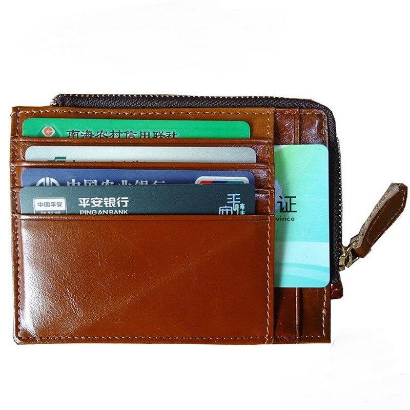 Gibo Auja - 브랜드 뉴 카우 정품 가죽 슈퍼 슬림 남성 지갑 카드 홀더 케이스 머니 오거나이저 짧은 지갑 지갑