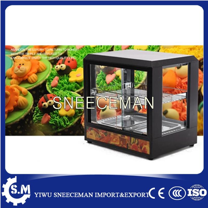 Pie Warmer Hot Food warmer Display Warming Cabinet 1 2m food warmer displayer cheaper warming showcase for sale