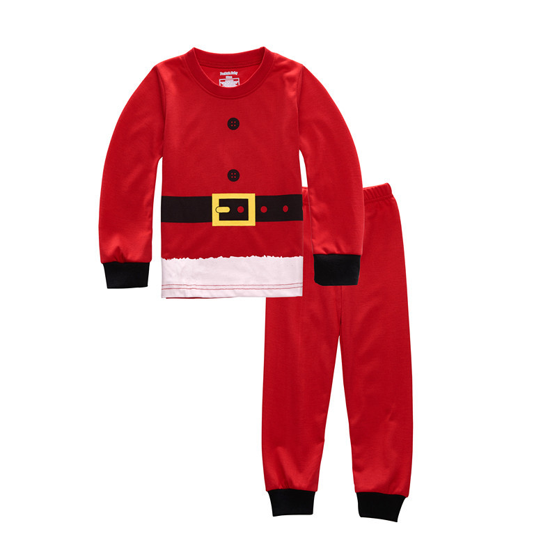 Christmas Kids Pajama Sets Christmas Pajamas Baby Boys Girls Clothes Santa Claus Children Clothing New Year Costumes for kids 20