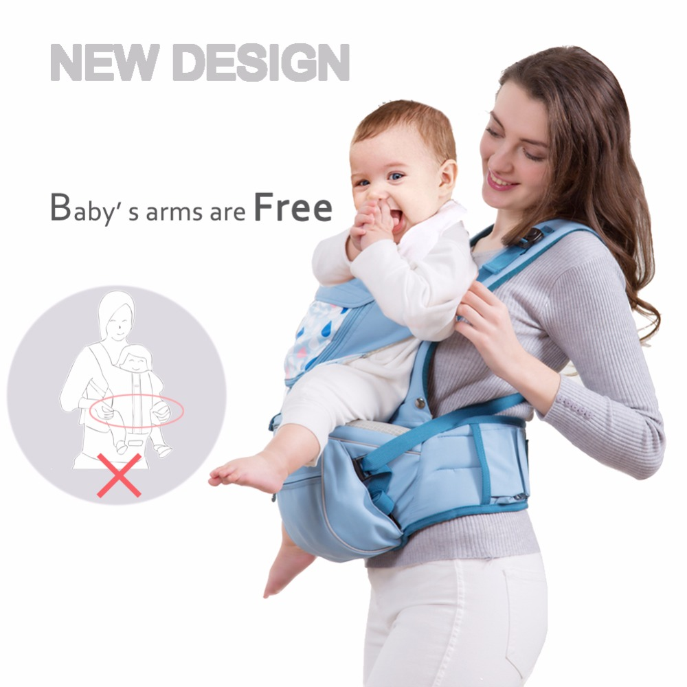 Brand Ergonomic Baby Carrier Infant Baby Hipseat Sling Front Facing