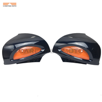 Темно синий мотоцикл зеркала заднего вида янтарь поворотники Чехол для BMW R1100RT R1100RTP R1150RT